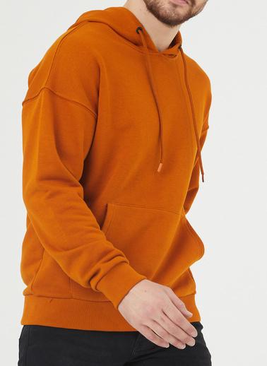XHAN Sweatshirt Oranj